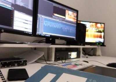 Sala de Postproducción Televisión de Galicia-tsa